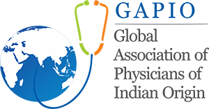 Global Association of Physicians of Indian Origin Logo